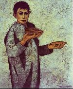 The seller of the pastries